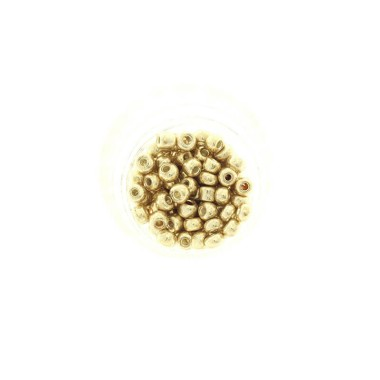 Koraliki SeedBeads Premium Metalic Light Gold (7/0) 10g SZDR40ME002