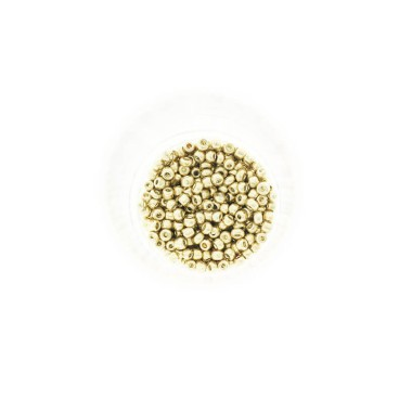 Koraliki drobne/  SeedBeads Metalic Light Gold (10/0) 10g SZDR25ME005