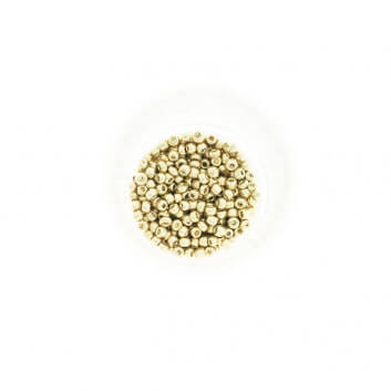 Koraliki SeedBeads Metalic Light Gold (10/0) 10g SZDR25ME005
