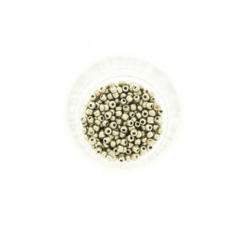 Koraliki SeedBeads Metalic Matte Light Gold (10/0) 10g SZDR25MEM002