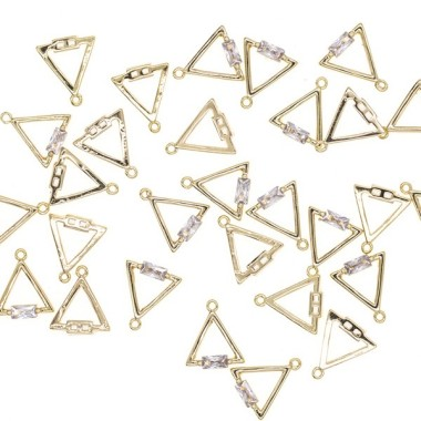 Triangle pendant with...