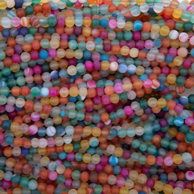 copy of Agate beads matte...