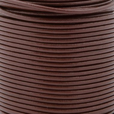 Leather strap 3mm / brown /...
