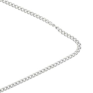 Surgical steel chain / oval...