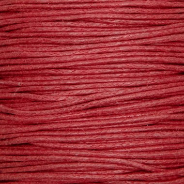 String 0.5mm / red / waxed...
